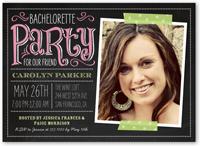private party bachelorette party invitation 5x7 flat