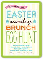 sunday brunch easter invitation 5x7 flat