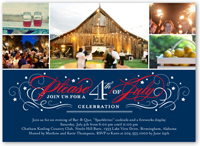 4th of July Party Invitations Independence Day Invites Shutterfly