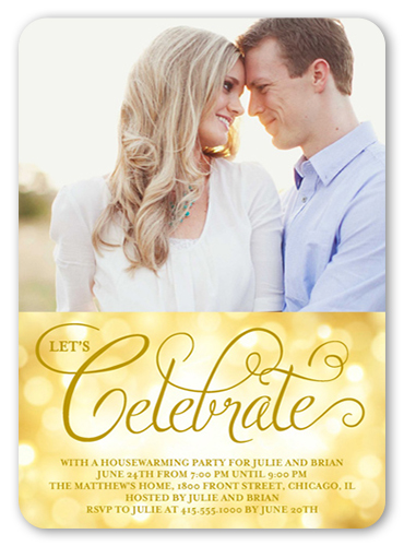 Celebration Bubbles Summer Invitation by Stacy Claire Boyd
