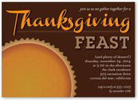 feast on pie fall invitation 5x7 flat
