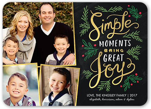 Simple Moments Christmas Card