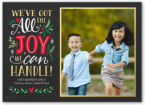 All The Joy Christmas Card