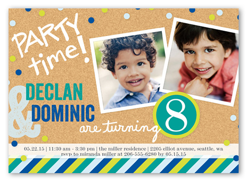 7th birthday invitations shutterfly by style stopboris Gallery