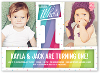 Twin Birthday Invitations Custom Twin Birthday Invites Shutterfly