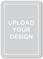 upload your own design wedding invitation 5x7 flat