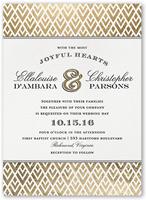 radiant love wedding invitation 5x7 flat