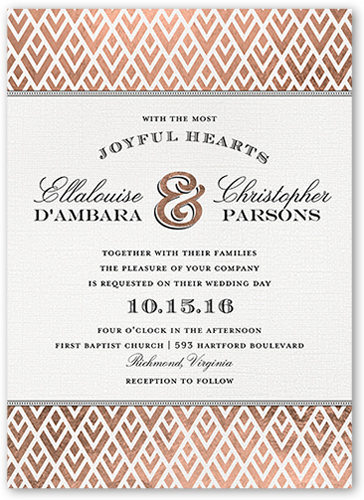 radiant love x wedding invitations  shutterfly, invitation samples