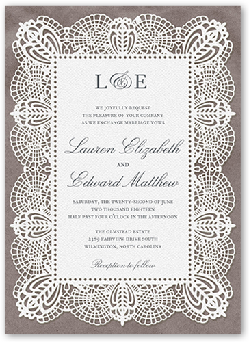 damask wedding invitations shutterfly