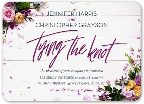 Special Beauty Wedding Invitation