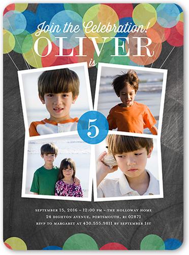 5th birthday invitations shutterfly