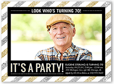 Surprise Birthday Invitations Adult