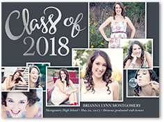 foil stamped graduation announcements  shutterfly, Quinceanera invitations