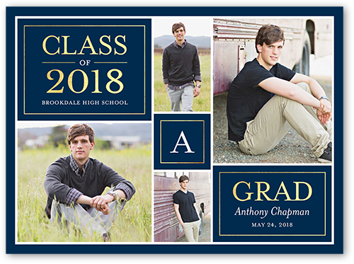 square unique graduation announcement shutterfly