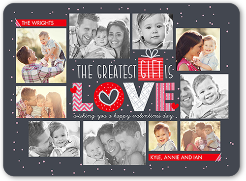 Greatest Gifts Valentine's Card, Rounded Corners