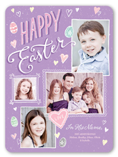happy easter frames easter card 6x8 flat