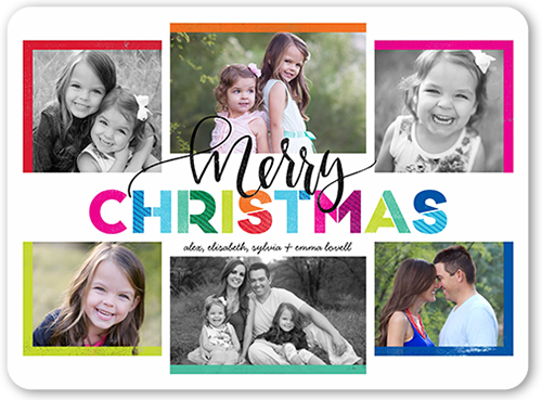 Merriest Hues Christmas Card