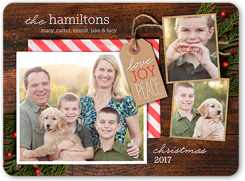 Gifted Joy Christmas Card