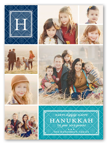 Captured Snapshots Hanukkah Card