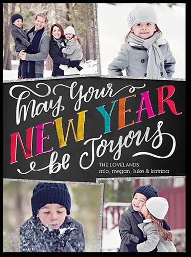 Joyous Frames New Year's Card