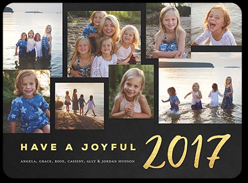 Joyful Age New Year's Card