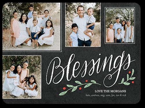 season blessings religious christmas card