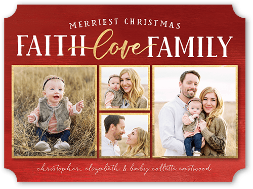 best blessings religious christmas card - Best Photo Christmas Cards