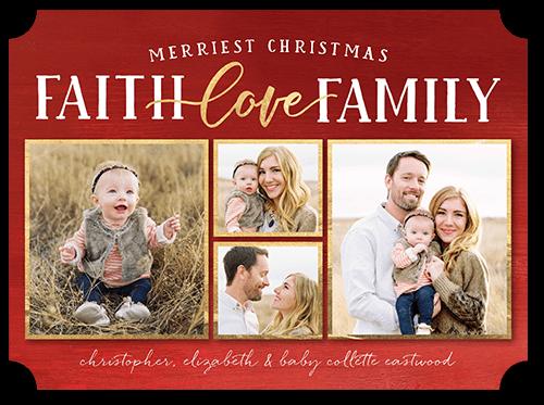 best blessings religious christmas card