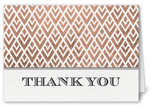 Radiant Love Thank You Card