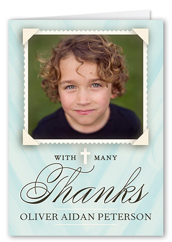 Holy communion boy 3x5 folded greeting card thank you cards front m4hsunfo