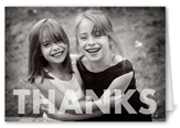 special moment thanks thank you card 3x5 folded