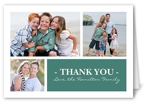 Perfectly Thankful Thank You Card