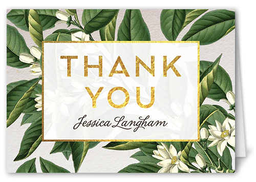 Botanical Dream Thank You Card