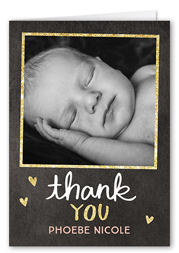 Starry Frames Thank You Card