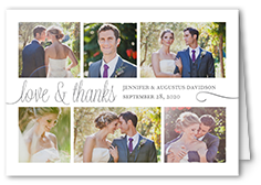 wedding thank you cards shutterfly - Wedding Thank You Cards