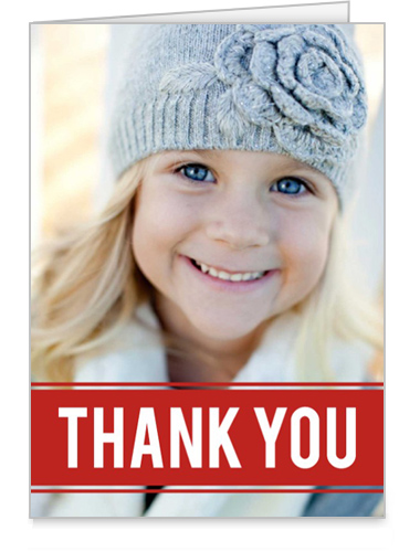 Pictures In Thank You Card