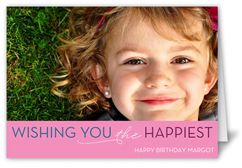 Think Pink Birthday Card