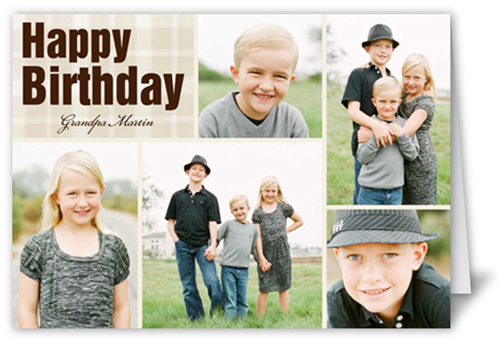 Fond Montage Birthday Card