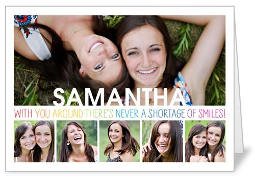 Smile Surplus Birthday Card by treat.