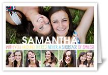 smile surplus birthday card