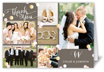 Wedding thank you cards wedding thank you notes shutterfly junglespirit Image collections