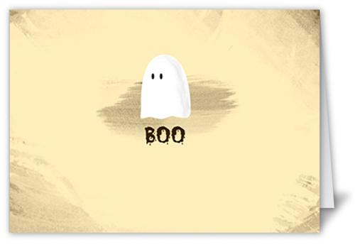 Lone Ghost Halloween Card