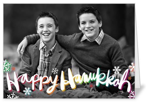 Colorful Hanukkah Hanukkah Card by Petite Lemon