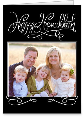 Handwritten Delight Hanukkah Card by Éclair Paper Company