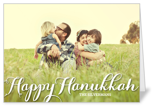 Scripted Delight Hanukkah Card by Yours Truly