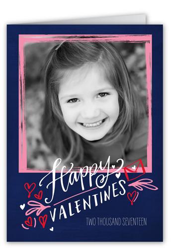Fantastic Frame Valentine's Card, Square Corners