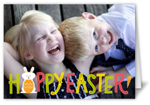 little bunny rabbit easter card