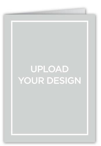 Upload Your Own Design Graduation Card, Square Corners