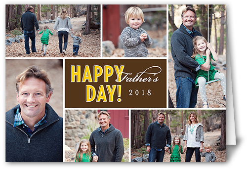Happy Day Cocoa Father's Day Card