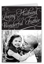 sentimental moment fathers day card